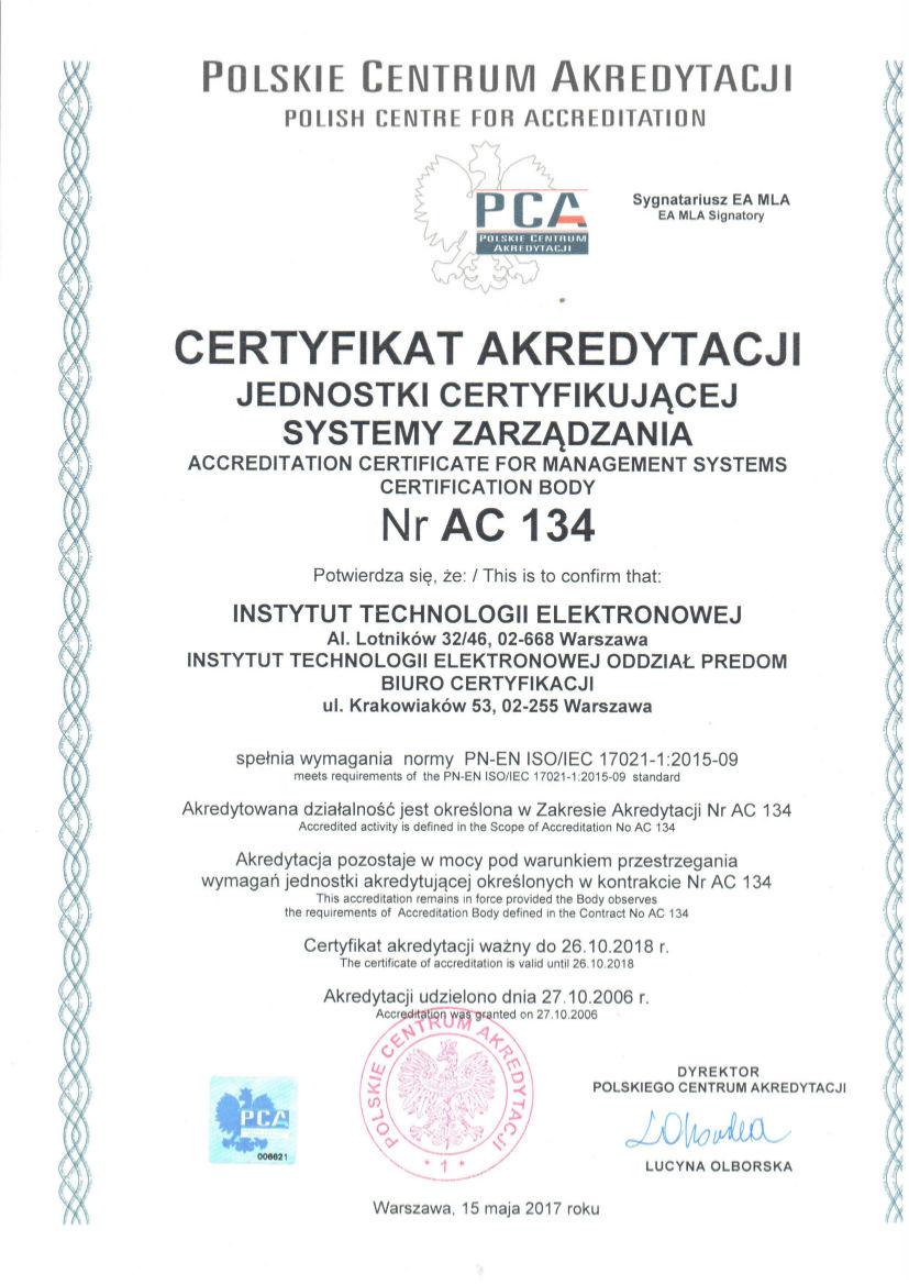 AC 134 2017